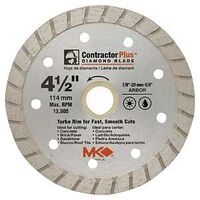 Contractor Plus Turbo Segmented Circular Saw Blade, 4 1/2""