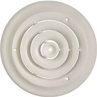 Mintcraft SRSD06 Round Ceiling Diffuser 6 in W