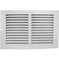 "Return Grille, 10"" x 6"" White"