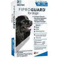 Sentry 02953 Fiproguard Flea and Tick Squeeze-On
