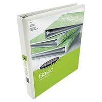 "View Binder, 1"" White"