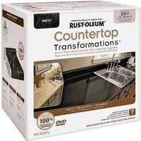 Transformations Countertops Refinishing Kit, Large Onyx