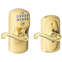ELECTRONIC ENTRY LEVER LT BRSS
