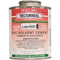 Rectorseal Low VOC Solvent Cement, 16 oz