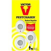 Victor PestChaser M753S Mini Corded Rodent Repeller With Nightlights