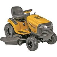 Riding Lawn Mower Tractor with Hydrostatic Foot Pedal Transmission, 25HP 54&quot;