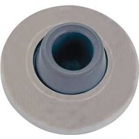Wall Door Stop, Satin Nickel