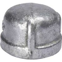 Galvanized Pipe Cap, 4""