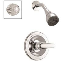 SHOWER FAUCET SNGL CHROME