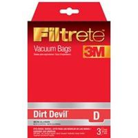 Filtrete Dirt Devil 65701A-6 Type D Vacuum Cleaner Bag