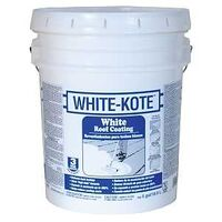 Gardner Three Year Elastomeric Roof Coatings, 5 Gal