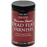 Interior Dead Flat Varnish, 1 Qt