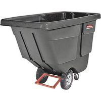 Rubbermaid 1314BLA Rotational Molded Tilt Truck