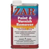 Zar Paint & Varnish Remover, 1 Qt