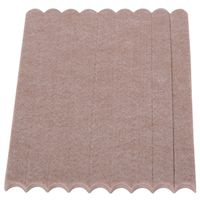 STRIP GUARD FELT 1/2X6IN BEIGE