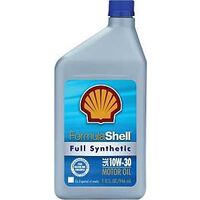 Formula Shell Synthetic Motor Oil, 10W30