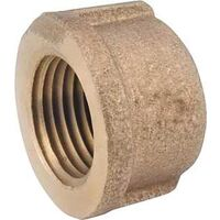 Low Lead Brass Cap, 1/2""