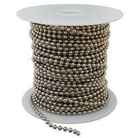 #6 Stainless Steel Bead Chain 100'