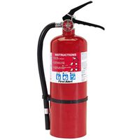 First Alert PRO5/BRKT5 Rechargeable Fire Extinguisher