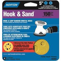 Norton Hook and Sand Coated Sanding Disc
