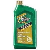 Quaker State Synthetic Motor Oil, 5W30