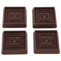 CUP SQUARE RUBBER 1-5/8IN BRN