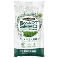 Smart Seed Tall Fescue Blend Grass Seed, 20lb