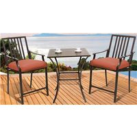 DINING SET CUSH BALCONY 3 PC