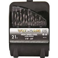 Vulcan 240660OR Jobber Length Drill Set