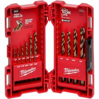 BIT DRILL COBALT KIT 15PC