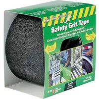 "Safety Grit Tape, 4"" x 60' Black"
