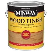Minwax Wood Finish Interior Stain, 1 Gal Golden Pecan