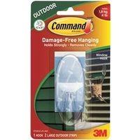 Command 17093CLR-AW Large Window Hook