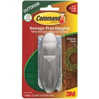 Command 17083G-AW Large Designer Hook