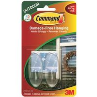 Command 17091CLR-AW Large Window Hook