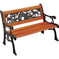 Seasonal Trends SXL-PB401B-N Essentials Child's Bench