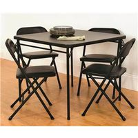 Mainstays 37-501BLKC Table and Chair Set