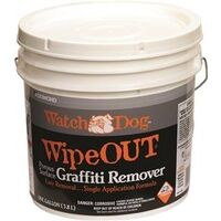 Watch Dog Wipeout Graffiti Remover, 1 Gal