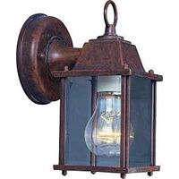 Exterior Wall Lantern, Rustic Brown
