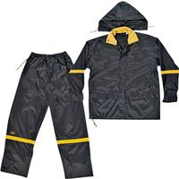 Climate Gear R103X 3-Piece Reflective Rain Suit