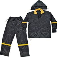 Climate Gear R1032X 3-Piece Reflective Rain Suit