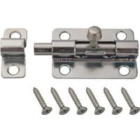 "Stel Barrel Bolt, 2 1/2"" Zinc Plated"