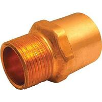 "Wrot Copper Pressure Adapter, 3/4"" x 1"""