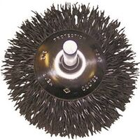 Circular Flared Wire End Brush, 1/4""