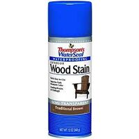 Thompsons Waters Sal Exterior Wood Stain Spray, 12 oz Traditional Brown