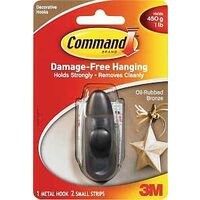 3M Command Small Hook, Bronze