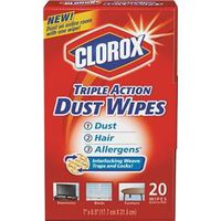 WIPES DUST TRIPLE ACTION 20CT