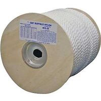"Twisted Nylon Rope, 3/8"" x 300'"