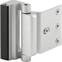 STOP DOOR ENTRY BLOCK SATIN NICKEL
