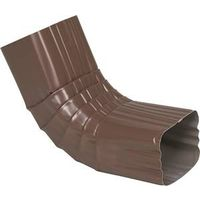 Amerimax 2526419 Type A Square Corrugated Gutter Front Elbow